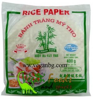 Оризови кори 22 см,  400gr