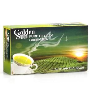 Цейлонски зелен чай 100 пакетчета