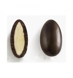 Драже - бадем с черен шоколад и стевия
