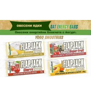 FLAP JACK - йогурт и банан 100gr